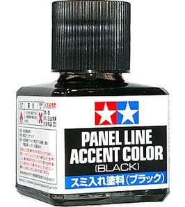 Panel Line Accent Color Black COD: 87131