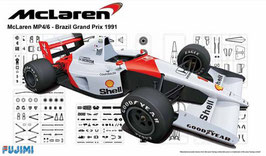 Mclaren Honda MP4/6 1991 Brazil COD: 091693