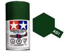 Dark Green (IJN) 100ml Aircraft Spray COD: AS1
