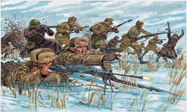 Russian Infantry : winter unif COD: 6069