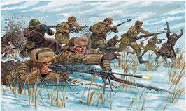 Russian Infantry : winter unif COD: 6069