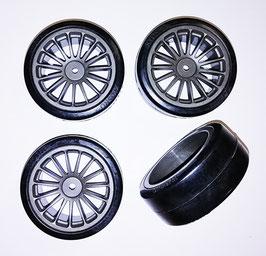 1/10 drift 15 spoke tire set grey (4 pcs) COD: 637040G