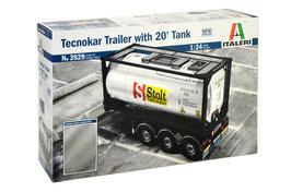 TECNOKAR TRAILER WITH 20' TANK COD: 3929