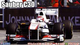 Sauber C30 (Japan/Monaco/Brazil) COD: 09208