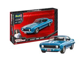 1/25 Fast & Furious - 1969 Chevy Yenko Camaro COD: 07694