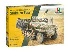 Sd. Kfz. 251/1 Wurfrahmen Stuka zu Fuss COD: 7080