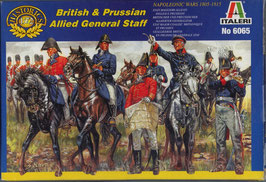 Napoleonic British & Prussian Staff COD: 6065