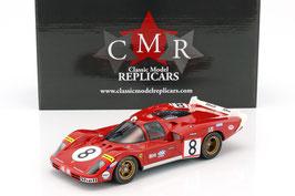 Auto Ferrari 512 S lungo Tail Le Mans 1970 COD: CMR027