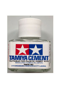 Colla per Plastica Tamiya Cement da 40ml COD: 87003