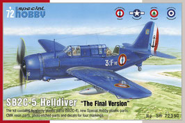 "SB2C-5 Helldiver ""The Final Version"" COD: SH72350"
