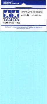 FOGLI ABRASIVI PER LAPPATURA 6000 3 pezzi COD: 87186