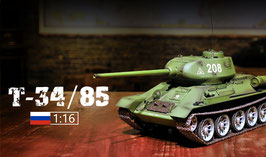 RC SOVIET UNION T-34/85 RC MEDIUN TANK METAL ARM COD: 3909-1