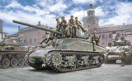 M4A1 SHERMAN with U.S. infantry COD: 6568