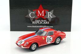 Ferrari 275 Gtb #26 24h Lemans 1966 Biscaldi, De Bourbon-Parme COD: CMR037