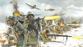 German Infantry (Winter uniform) COD: 6151