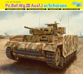 Pz.Bef.Wg.III Ausf.J w/Schurzen COD: 6570