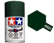 Dark Green 2 (IJN) 100ml Aircraft Spray COD: AS21