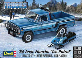 "1980 jeep honcho ""ice patrol"" COD: 17224"