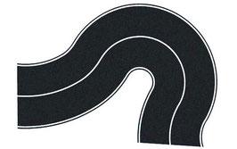 strada federale asfaltata curva universale COD: 60701