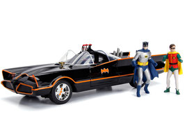 BATMOBILE 1966 - CLASSIC TV SERIES WITH FIGURES BATMAN AND ROBIN  COD: 98625