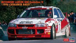 """MITSUBISHI LANCER GSR Evolution III """"1996 CATALUNYA COD: 20510"""