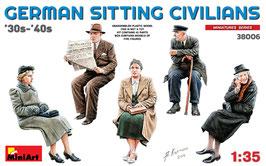 GERMAN SITTING  CIVILIANS  '30s-'40s COD: 38006