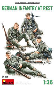 German Infantry at rest  COD: 35266