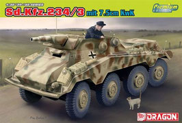 SdKfz 234/3 mit 7.5cm KwK COD: 6786