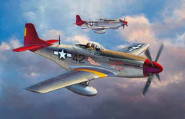 "P-51D MUSTANG ""TUSKEGEE COD: 8225"