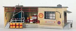 """Magazzino lubrificanti """"Shell"""" con ufficio COD: 61106"""