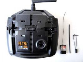 RADIOCOMANDO 2 CANALI  COD:  FS-T2A