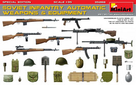SOVIET INFANTRY AUTOMATIC WEAPONS & EQUIPMENT COD: 35268