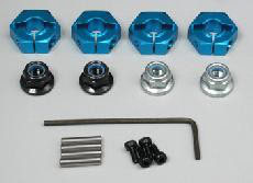 Low Aluminum Hex Hubs COD: 53496