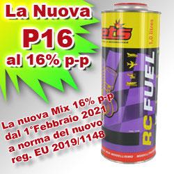 JETS P16 Lattina 1L misc. 16% p-p a norma EU COD: P16
