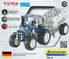 MINI TRATTORE CON RIMORCHIO NEW HOLLAND COD: 10056
