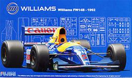 1/20 Williams FW14B 1992 COD: 09197