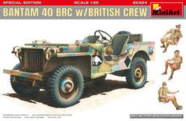 BANTAM 40 BRC w/BRITISH CREW. SPECIAL EDITION COD: 35324