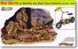 British Red Devils w/Welbike and Drop Tube Container COD: 6585