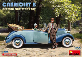 CABRIOLET B GERMAN CAR TYPE 170V COD: 38018