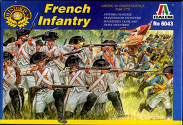 French Infantry 1776  COD: 6043