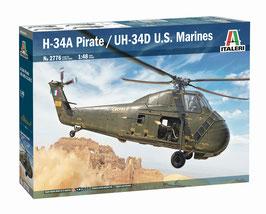 H-34A Pirate /UH-34D U.S. Marines COD: 2776