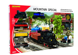Starter set - Mountain train - motrice + 4 carri merce - HO  COD: T112