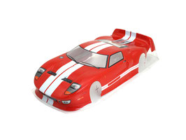 CARROZZERIA 1/10 FORD RED COD: Q321016