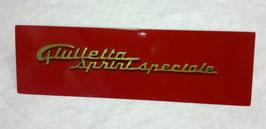 SCRITTA GIULIETTA SPRINT SPECIALE COD:4351-151