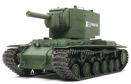 russian heavy tank kv-2 gigant full-option kit COD: 56030