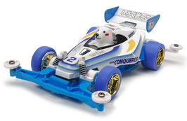 1/32 mini 4wd shirokumakko with torque-tuned motor COD: 18083