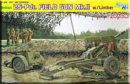 British 25pdr Field Gun Mk.II w/Limber COD: 6774