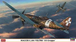 """MACCHI C.205 VELTRO  """"155 GRUPPO"""" COD: 07405"""