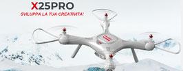 R/C Quadcopter GPS fixed aerial senior shaft aircraft COD: X25PRO