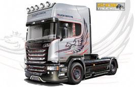 SCANIA R730 V8 STREAMLINE ''SILVER GRIFFIN'' COD: 3906